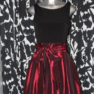 Beautiful Red Nylon Dress